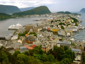 Alesund in August