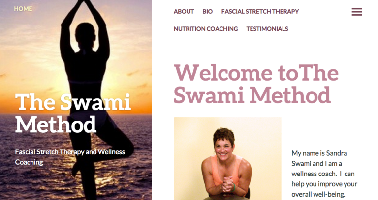 Screen shot swami method