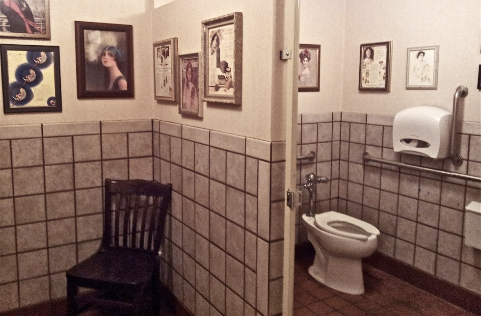 A Lovely Commode, Famous Dave's Coon Rapids MN