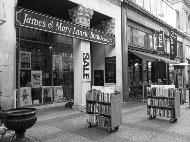 James and Mary Laurie Booksellers